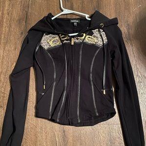 Bebe black hoodie